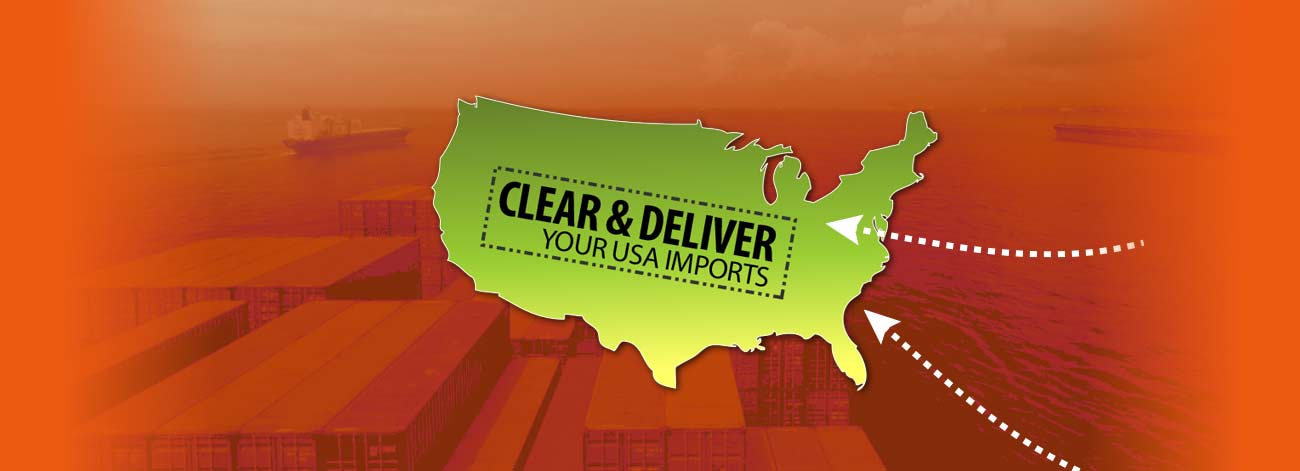 Customs Clearance, Customs Broker USA-Cleared and delivered